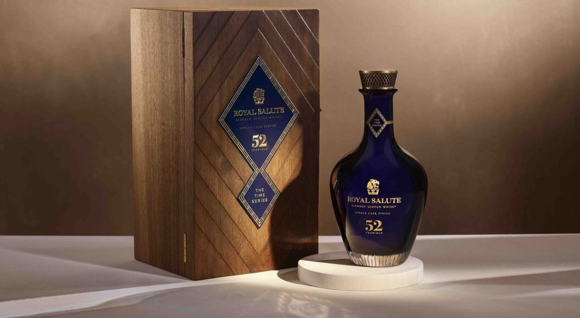 royal salute 52 year old single cask
