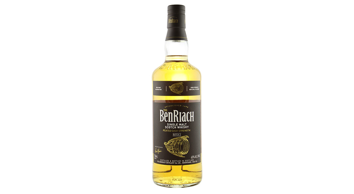The BenRiach Cask Strength Peated: Batch 2