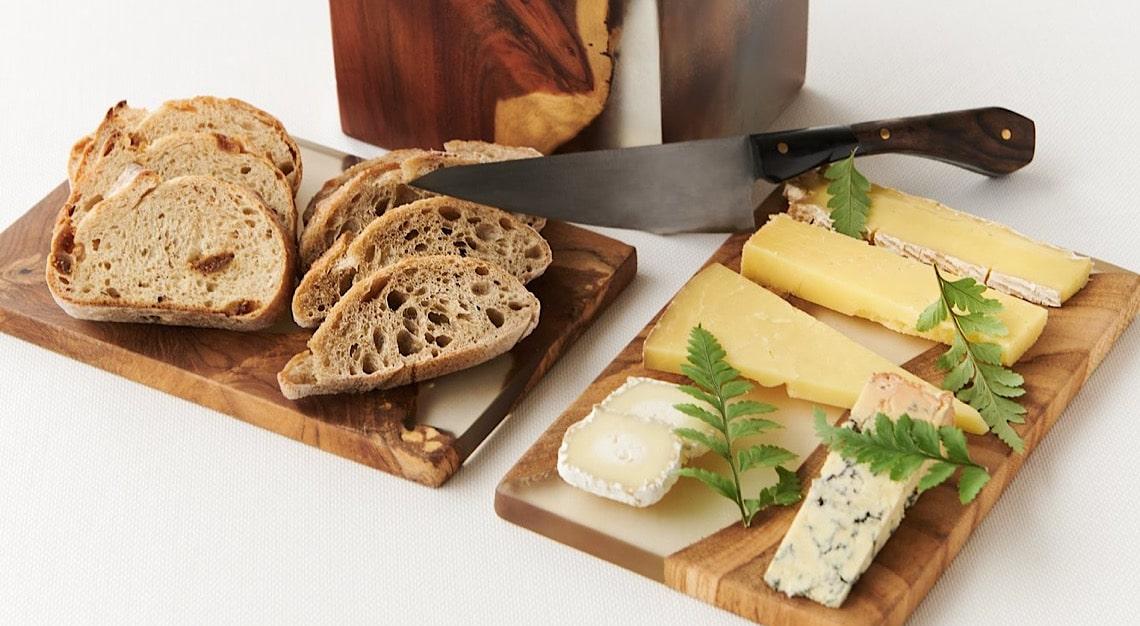JAAN by Kirk Westaway cheese selection