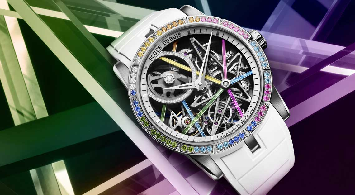 Roger Dubuis Excalibur Blacklight limited edition