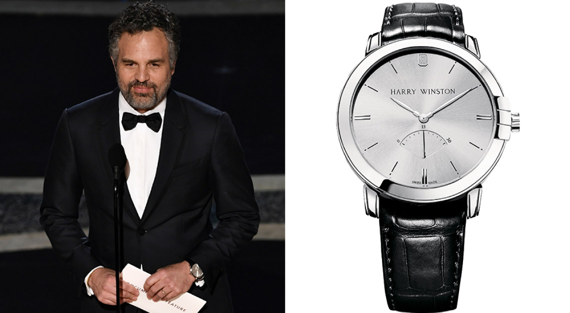 Mark Ruffalo Harry Winston