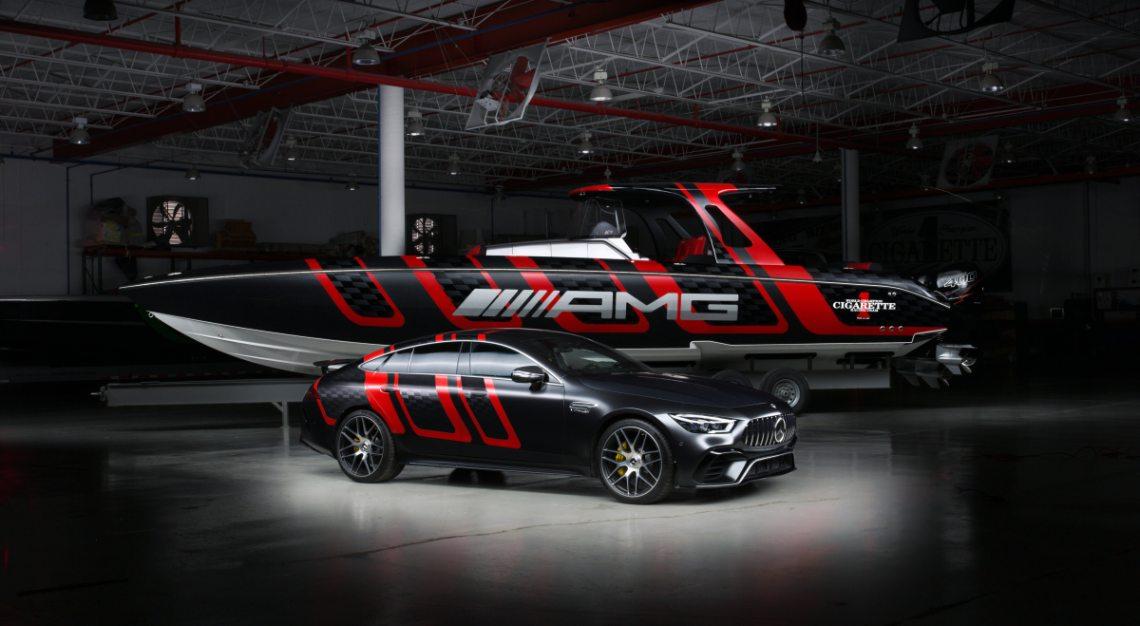 cigarette Mercedes-AMG speedboat