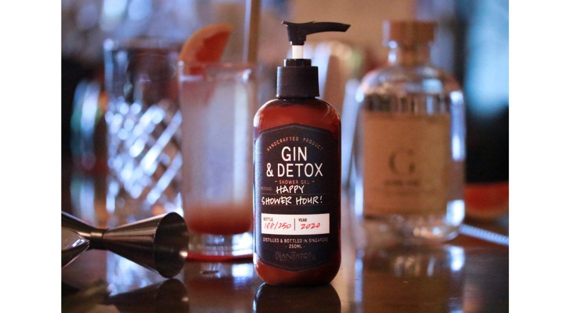 Spa Esprit Gin and Detox Plantation Shower Gel