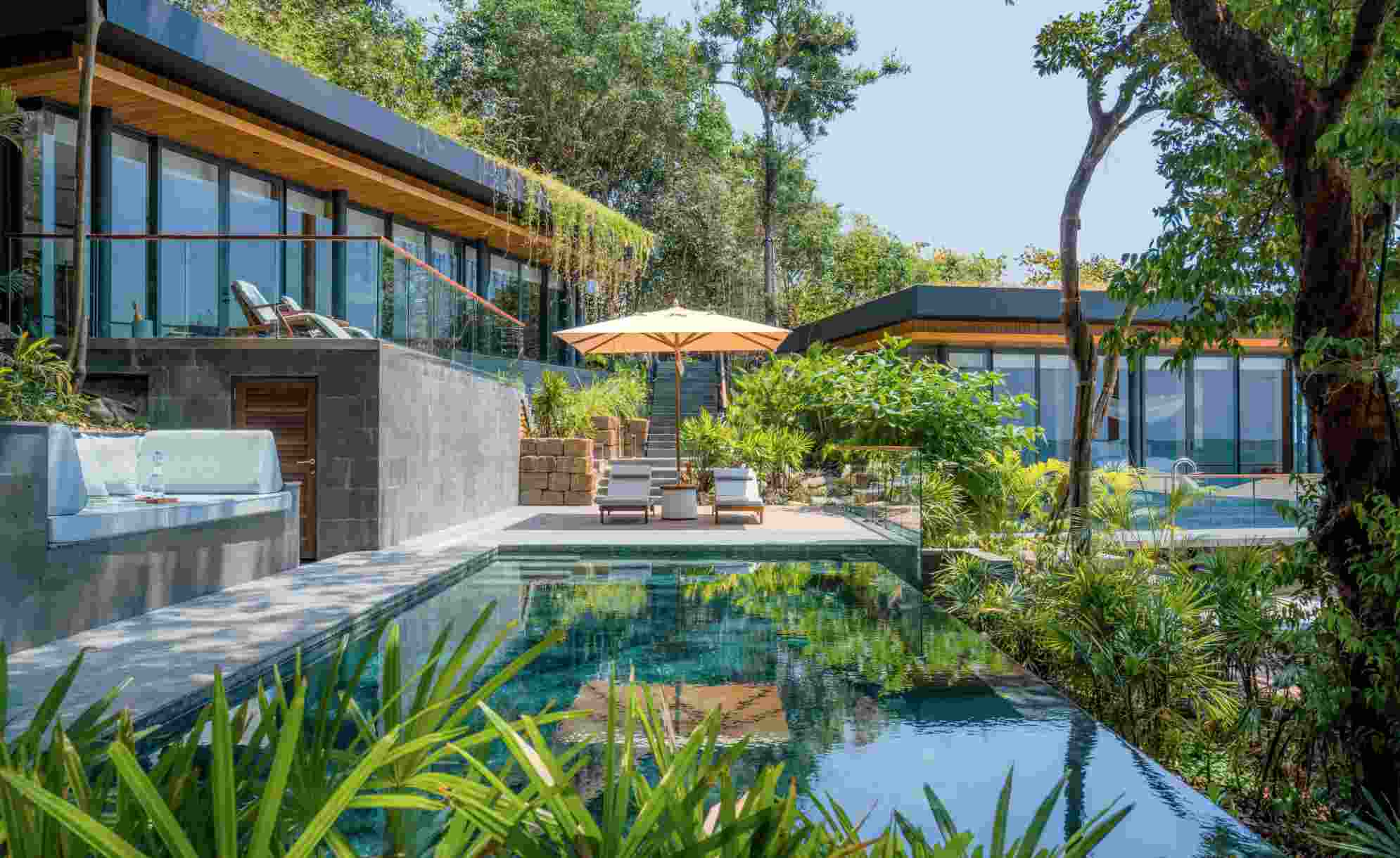 Six Senses Krabey Island, a topical island hideaway