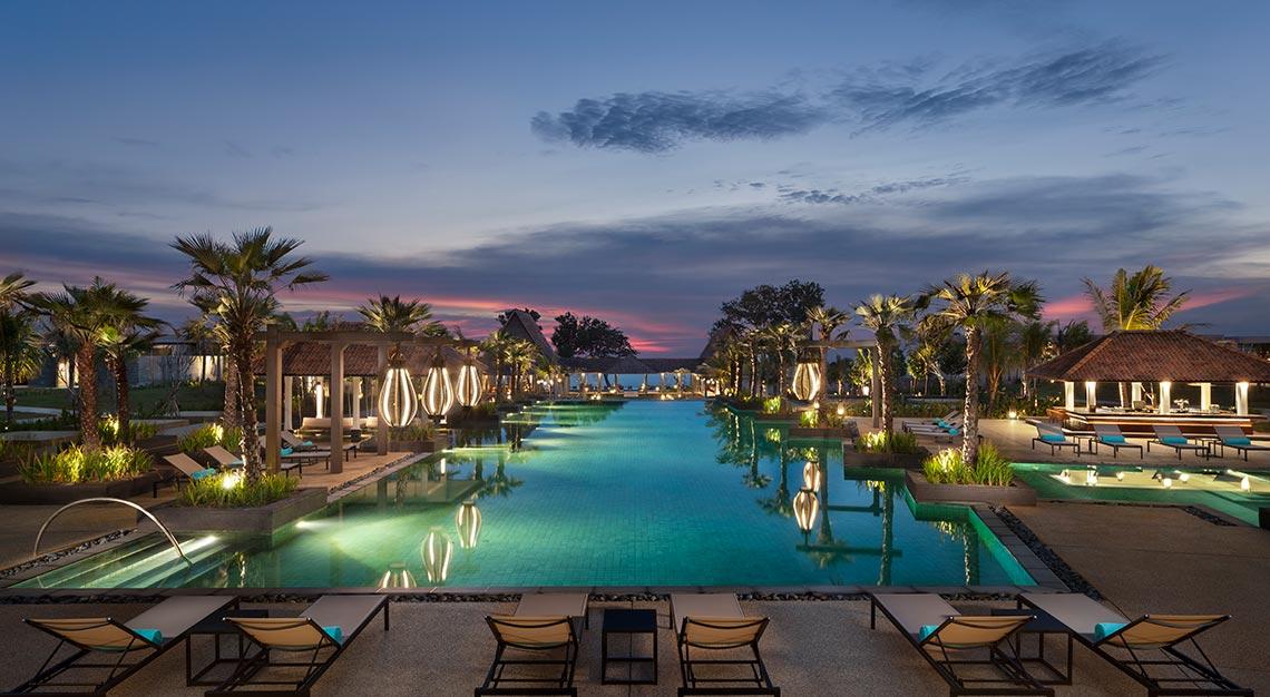 Anantara Desaru Coast, beach resort, Malaysia