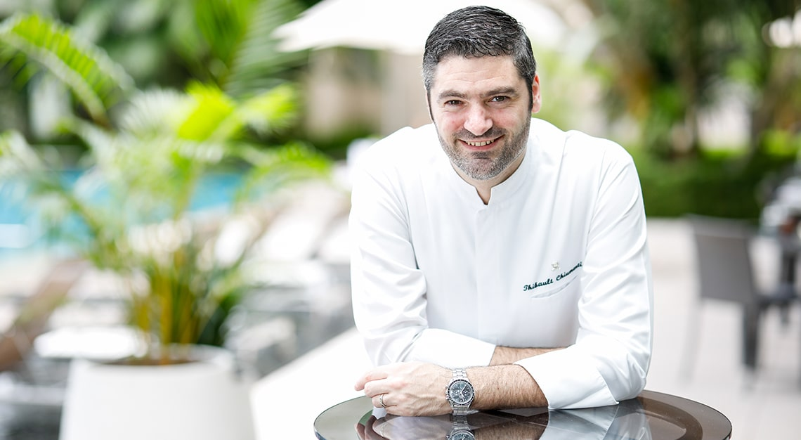 Executive Chef Thibault Chiumenti