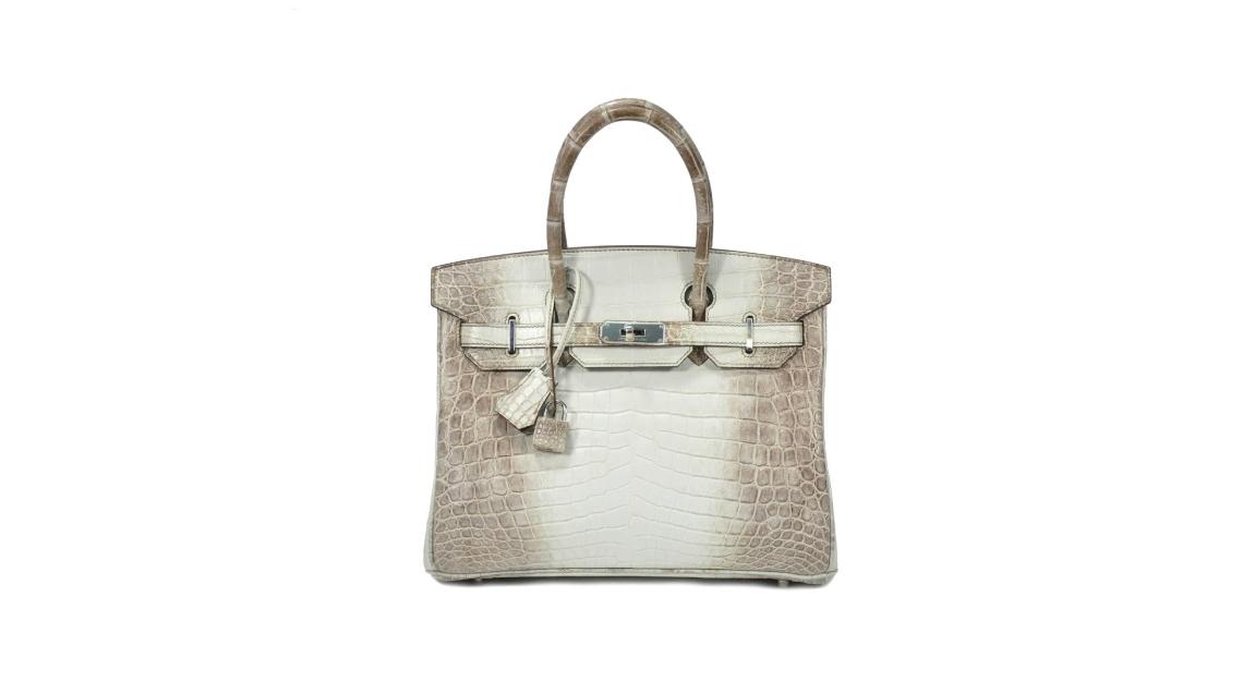 Hermès Gris Cendre Himalaya 30 Birkin