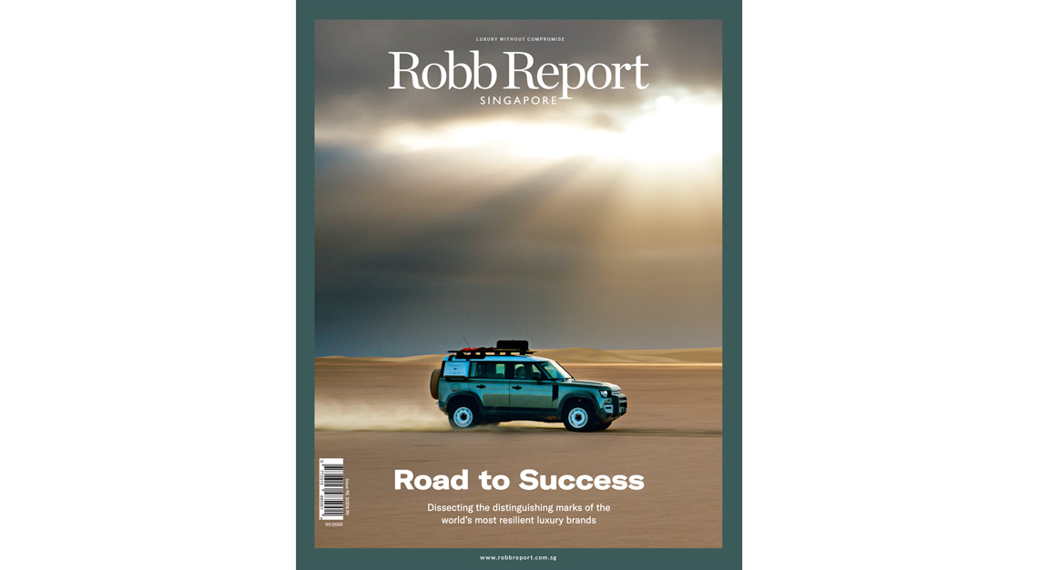 Robb Report Singapore May cover