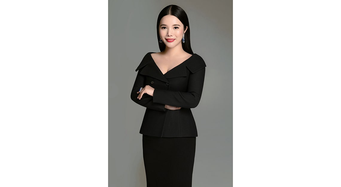 Wendy Yu, founder and chief executive officer of Yu Holdings