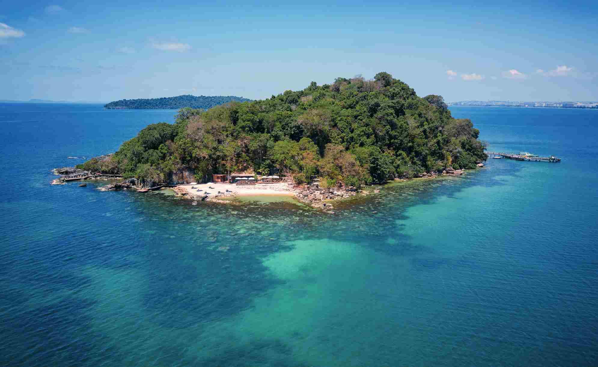 Krabey Island, Cambodia