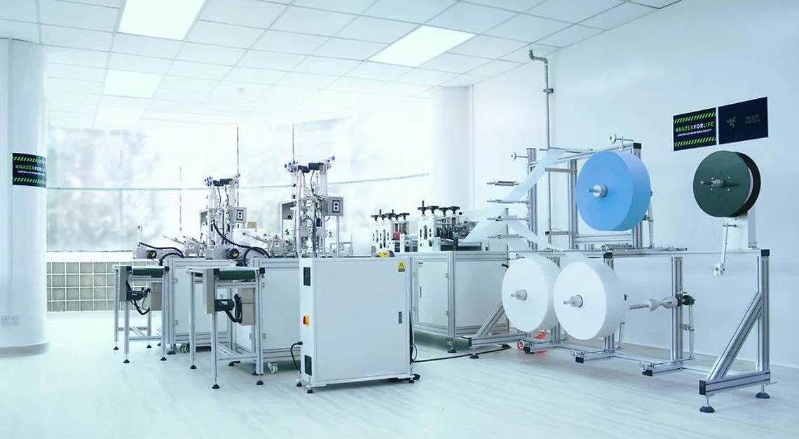 Razer mask production facility