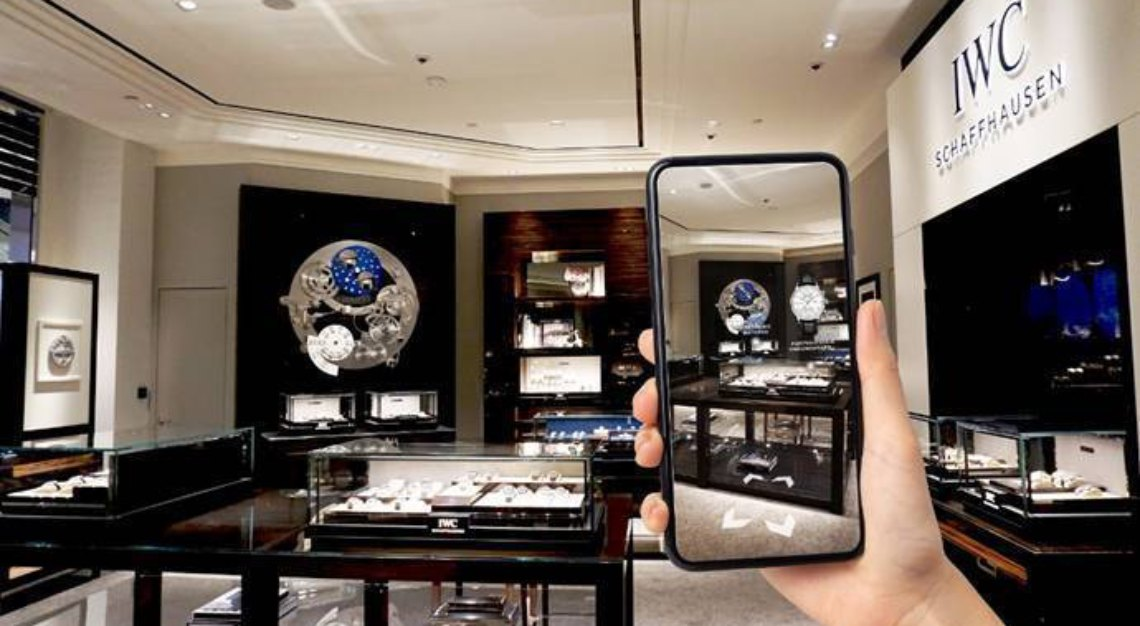 VR boutique by IWC