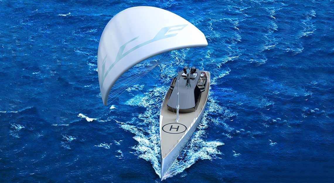 Ice Kite yacht