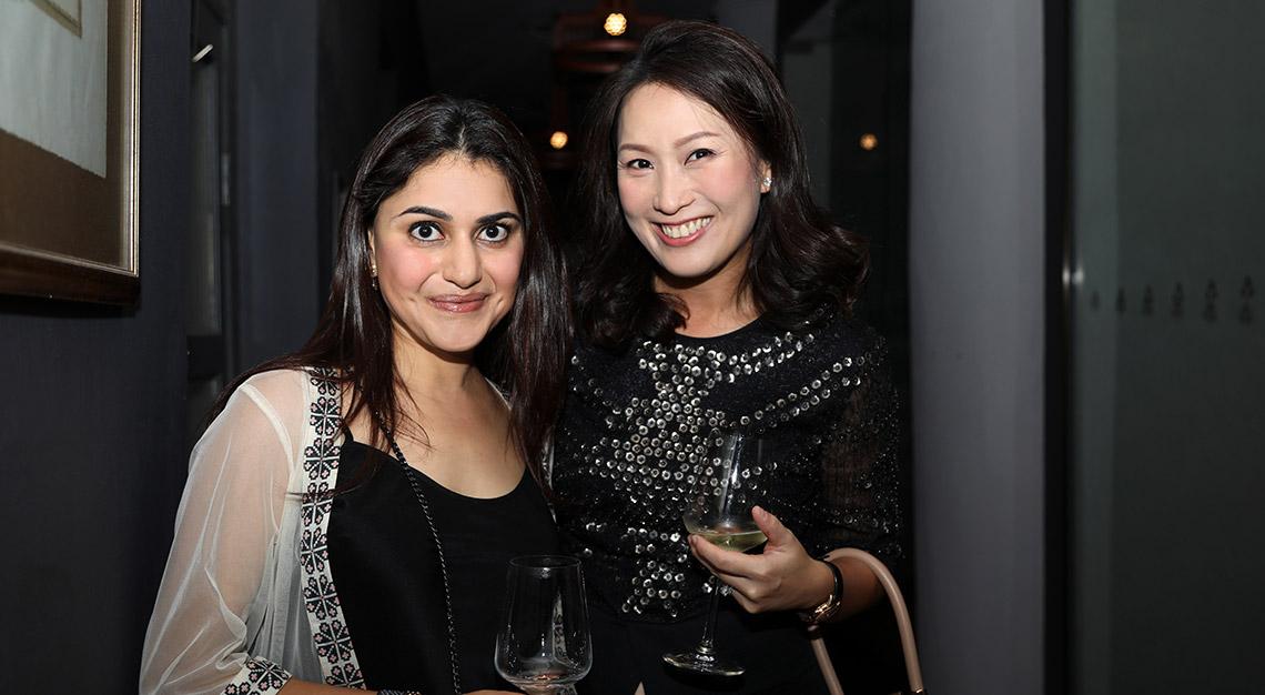 Karishma Tulsidas with Lyn Rosmarin