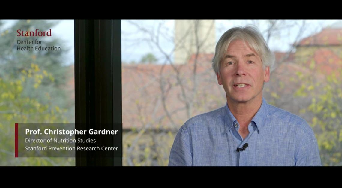 Christopher Gardener, Stanford Nutrition Professor