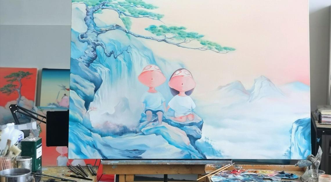 Wu Qiong painting