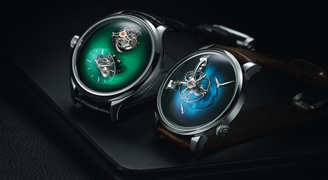 MB&F and H. Moser & Cie.