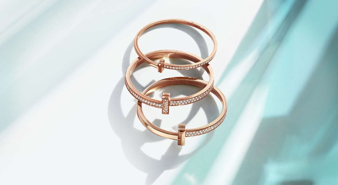 Tiffany T1 in 18k rose gold