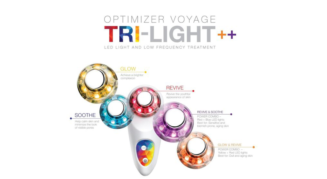 Optimizer Voyage Tri-Light++ by Skin Inc