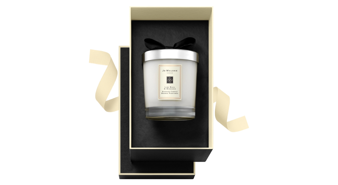 Jo Malone's Lime Basil & Mandarin Home Candle.