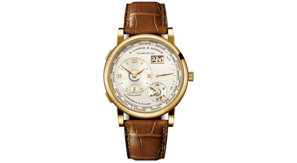 A. Lange & Söhne Lange 1 Time Zone Caliber L901.0 in Yellow Gold