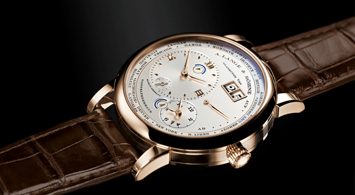 A. Lange & Söhne Lange 1 Time Zone Caliber L901.0 from 2005