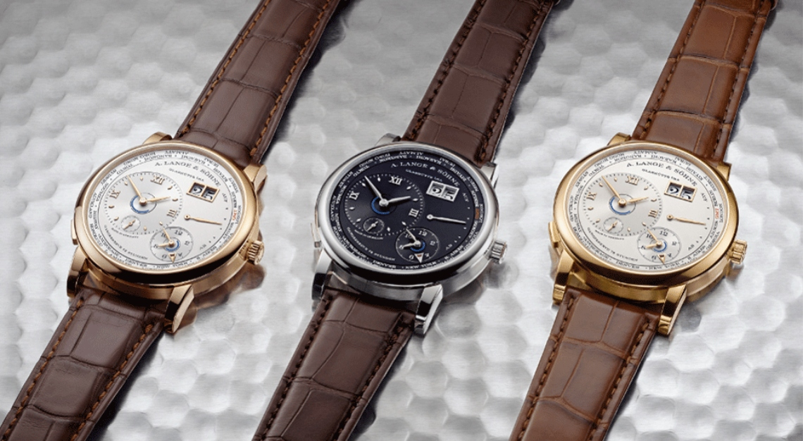 A. Lange & Söhne's Lange 1 Time Zone Watch