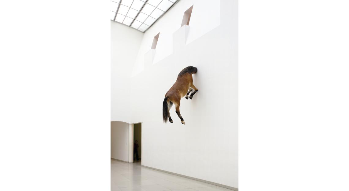 Maurizio Cattelan Horse