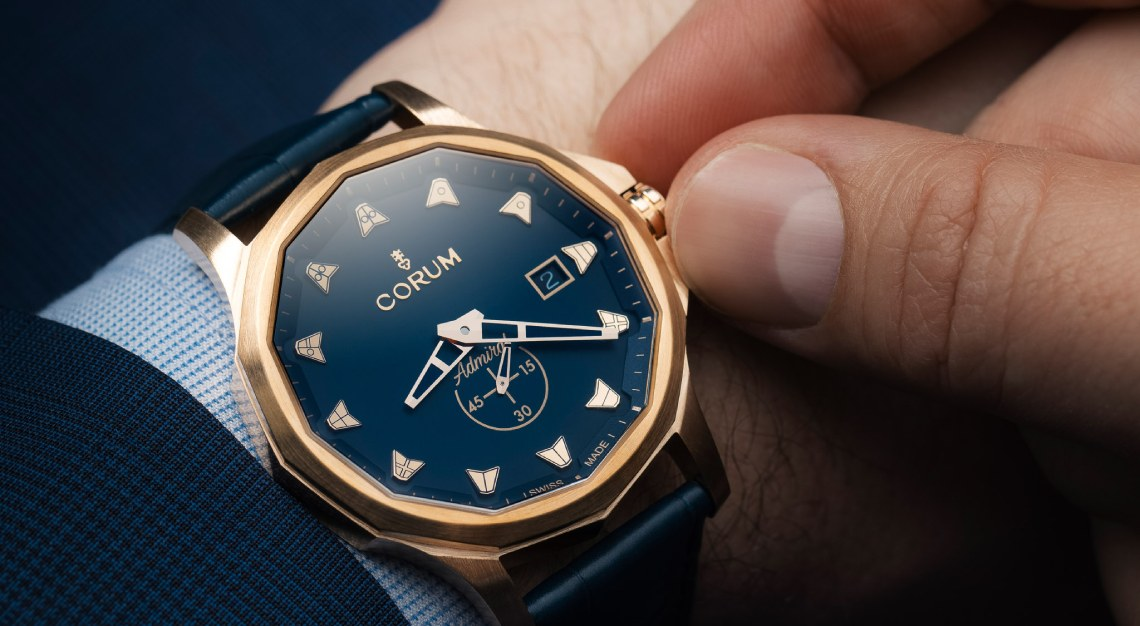 Corum Admiral 42 Bronze