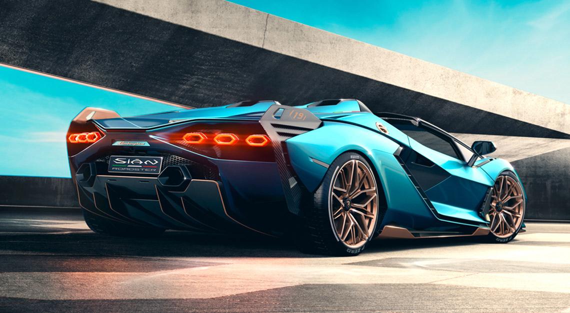 Lamborghini's new Sián Roadster