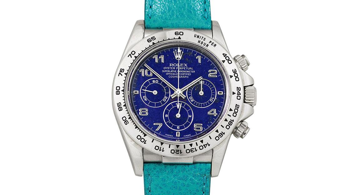 Rolex Daytona Lapis Lazuli platinum