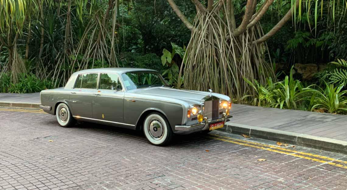 Hansjoerg Mueller, Rolls Royce Classic car