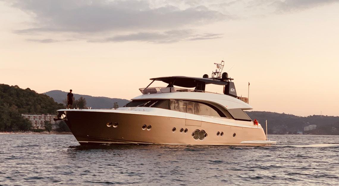 Moana yacht