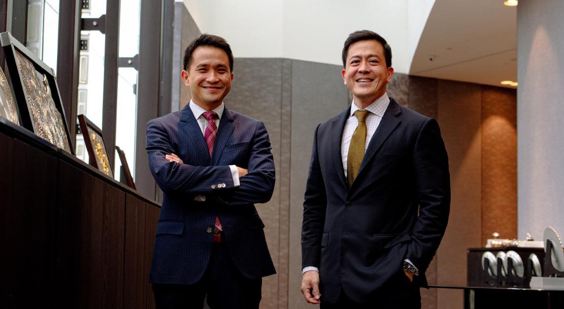 Yong Yoon Li and Chen Tien Yue Royal Selangor