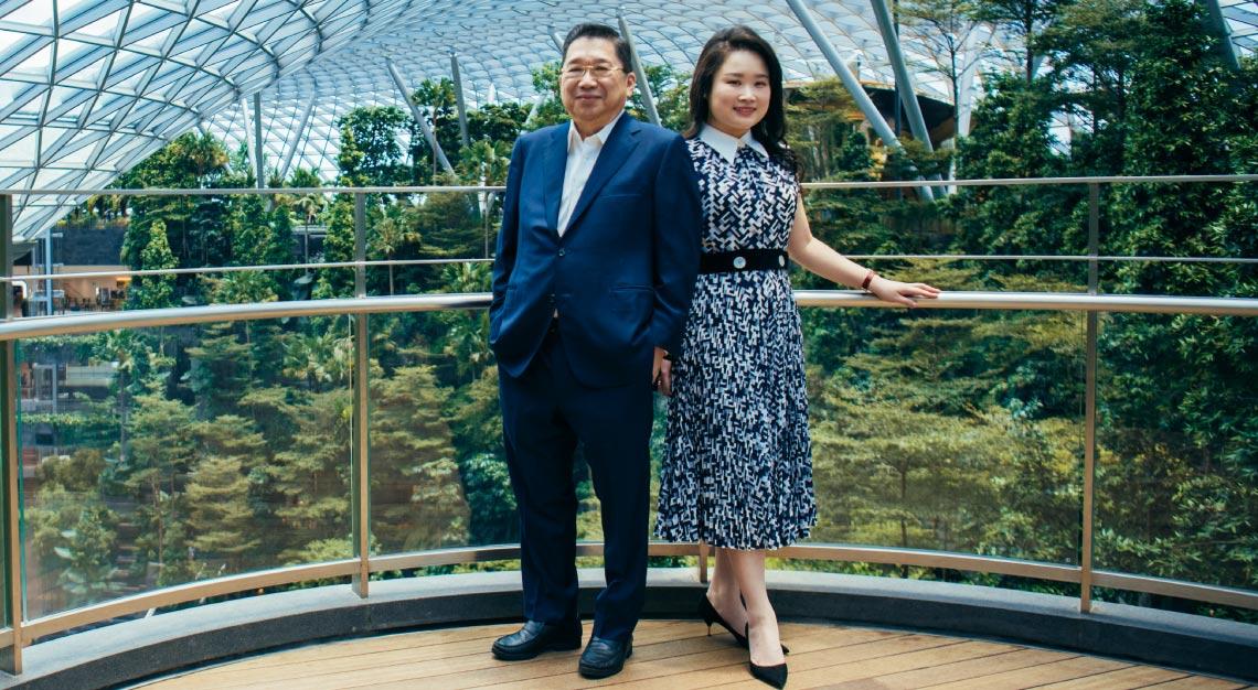 Lam Tze Tze and Lam Tong Loy