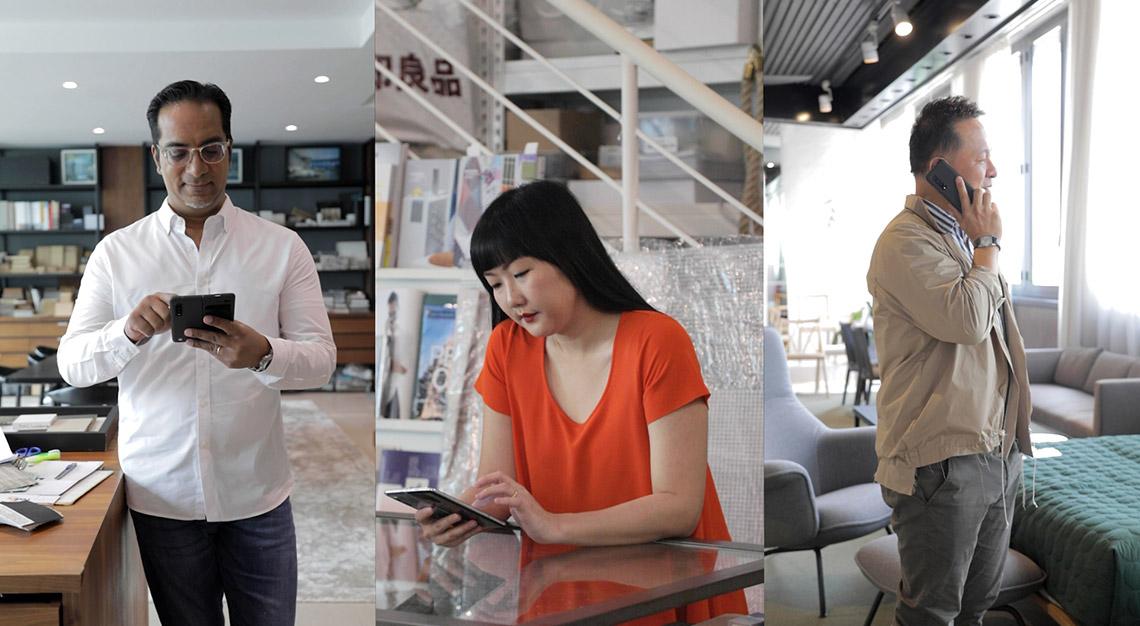 Rengy John, Olivia Lee, Nathan Yong