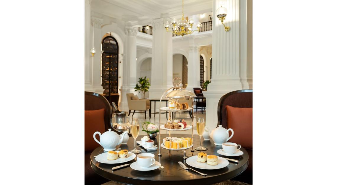 raffles afternoon tea