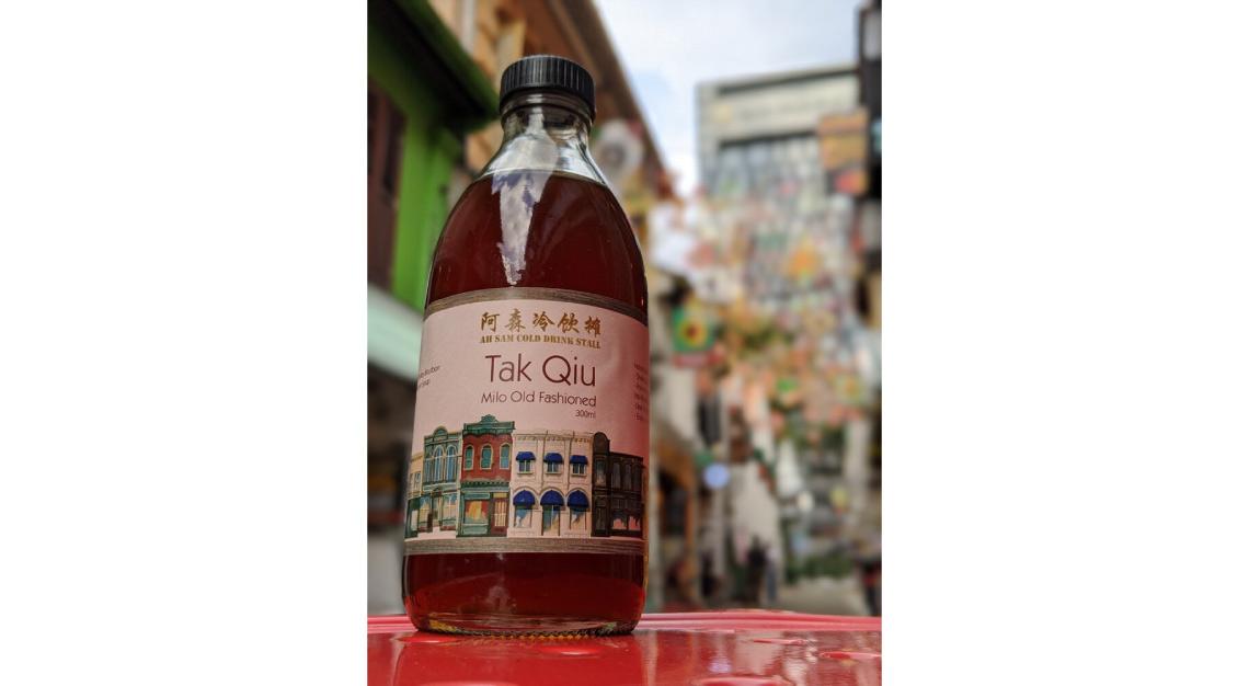 Tak Qiu (Milo Old Fashioned) ah sam cold drink stall