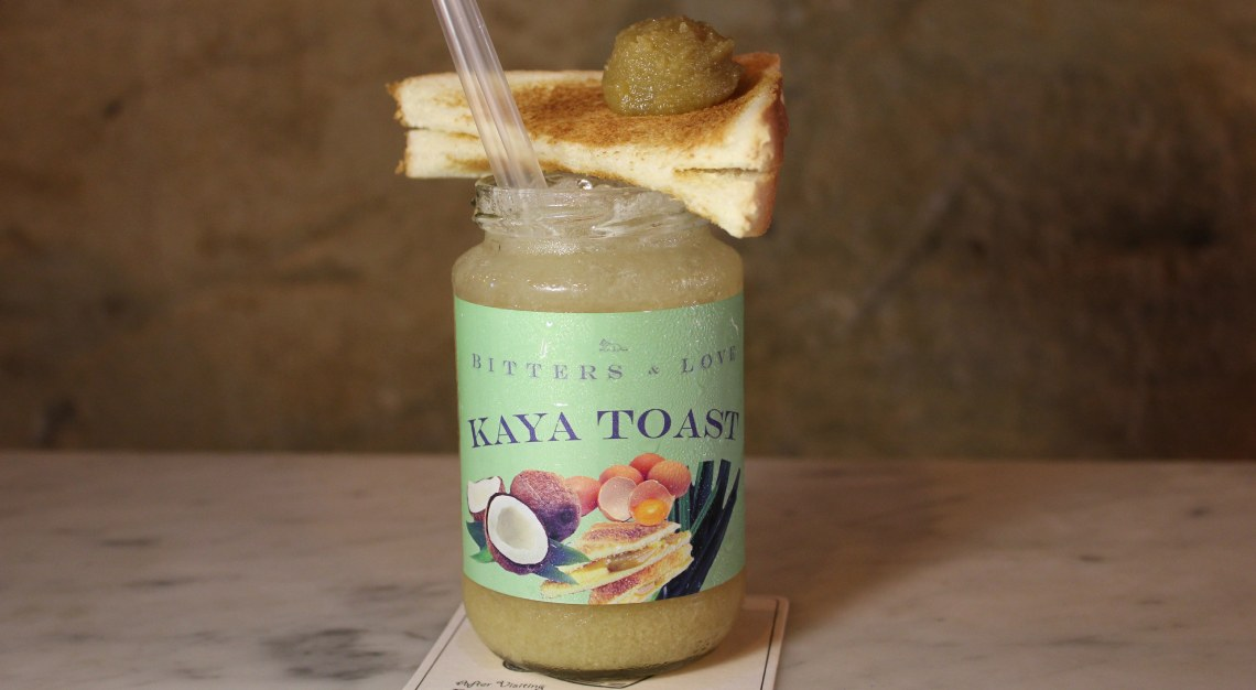 Bitters and Love: Kaya Toast Cocktail