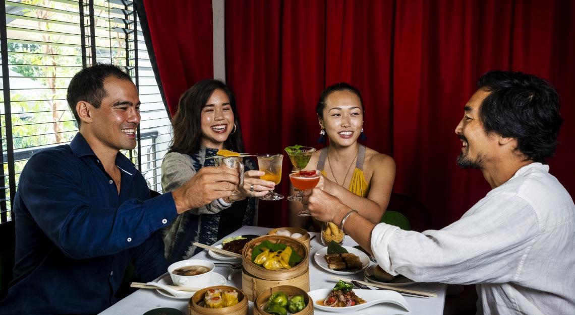 Madame Fan's Cocktail Dim Sum Brunch