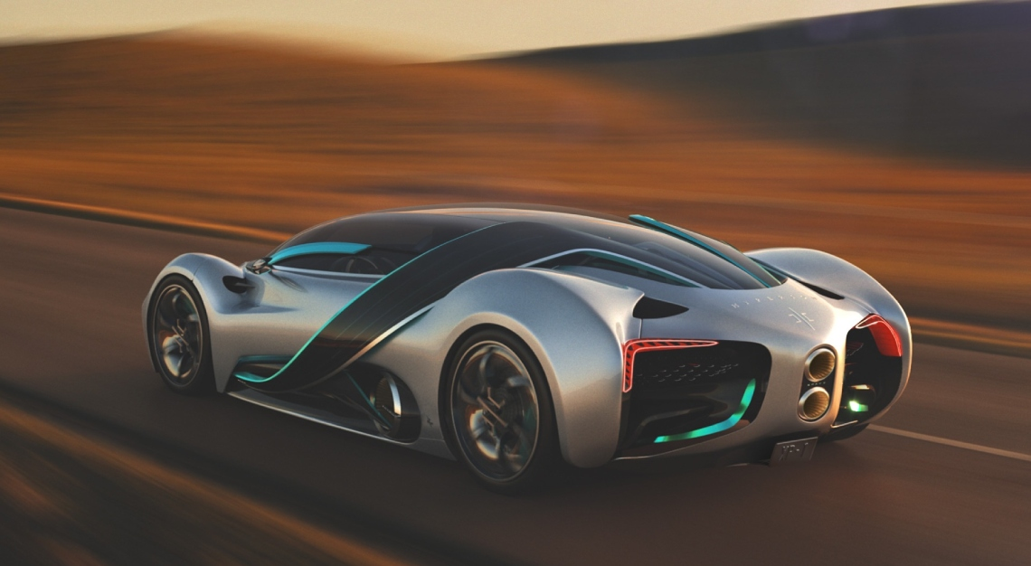 hyperion XP-1 supercar