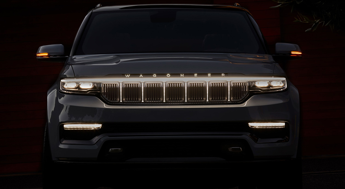 Jeep Grand Wagoneer SUV concept