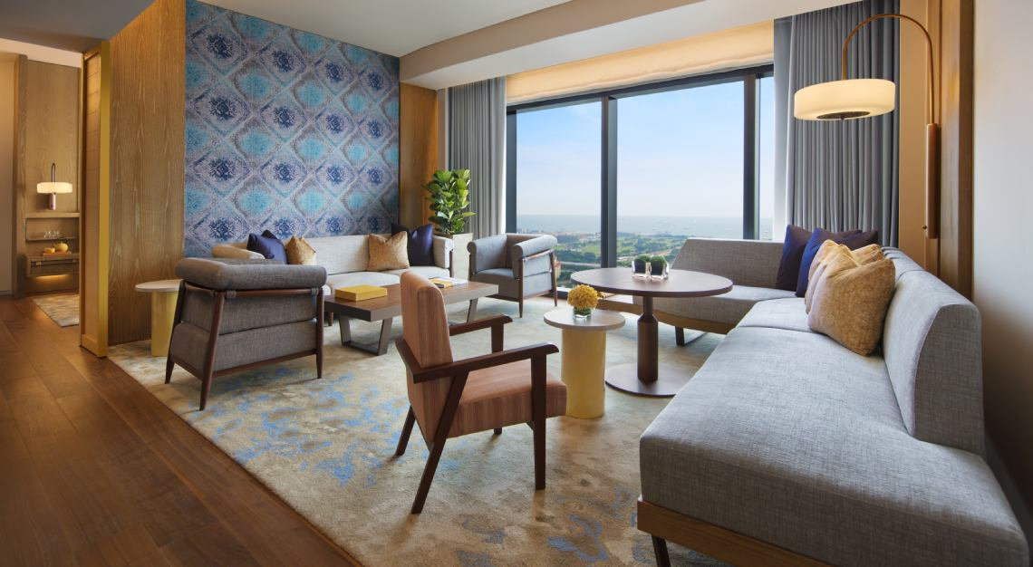 andaz singapore large suite experience