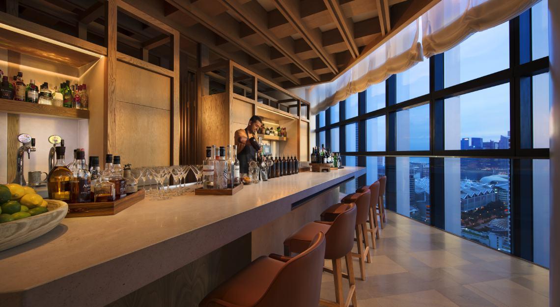 andaz singapore bar square