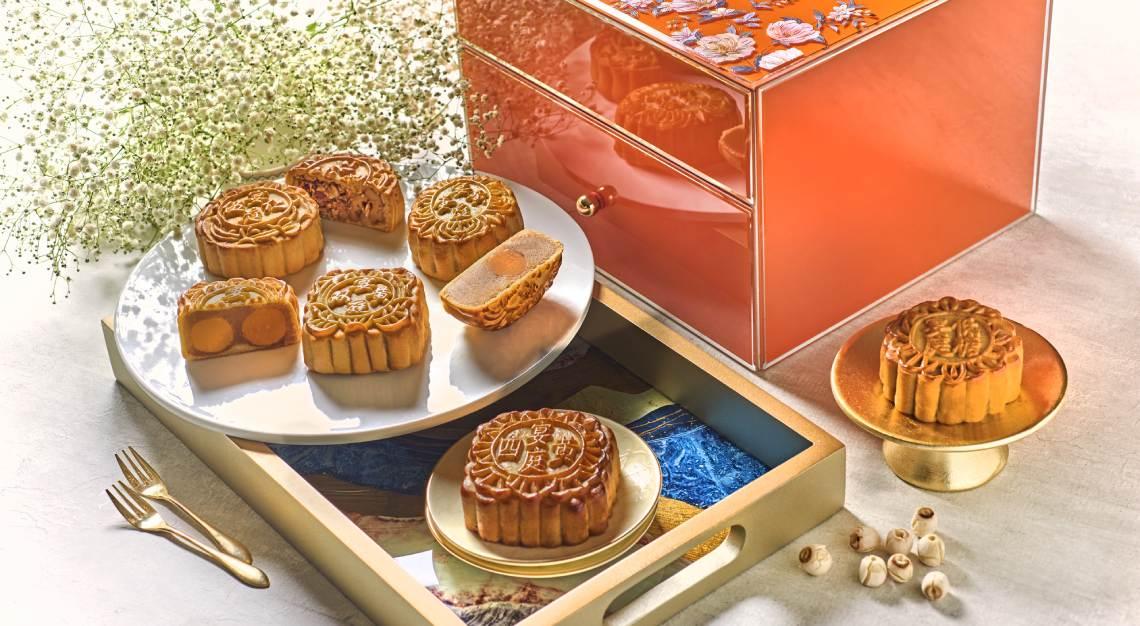 St Regis Yan Ting Assorted Baked Mooncakes