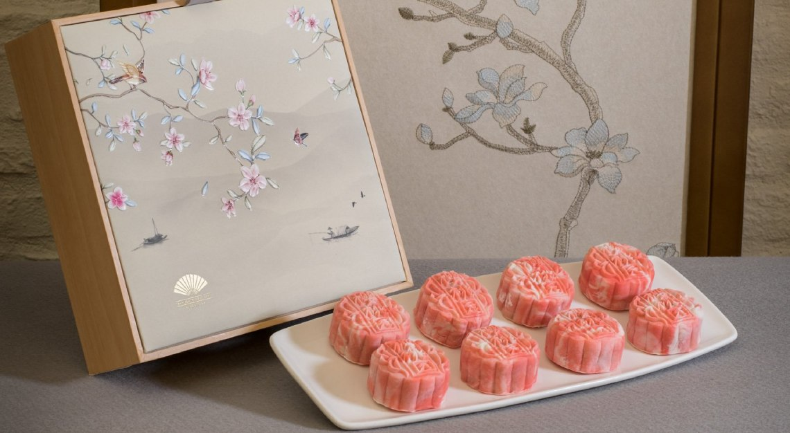 mandarin oriental cherry garden mooncakes