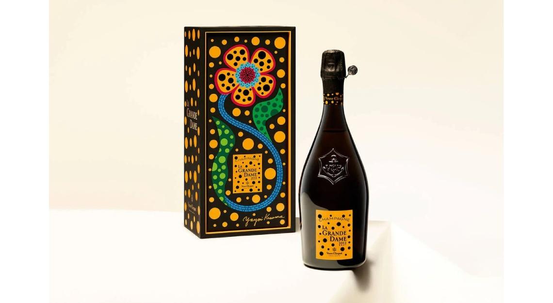 Veuve Clicquot's La Grande Dame 2012 Yayoi Kusama