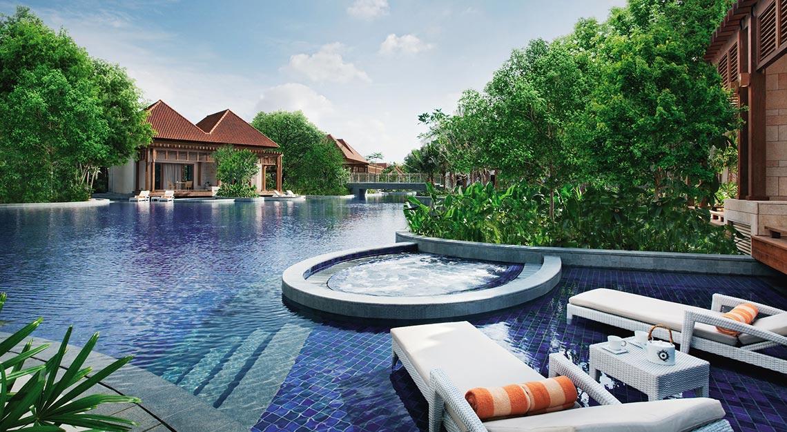 Resort's World, Beach Villas