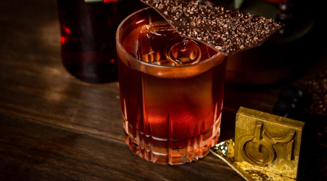 Mo Bar Nomadic Forager Cocktail