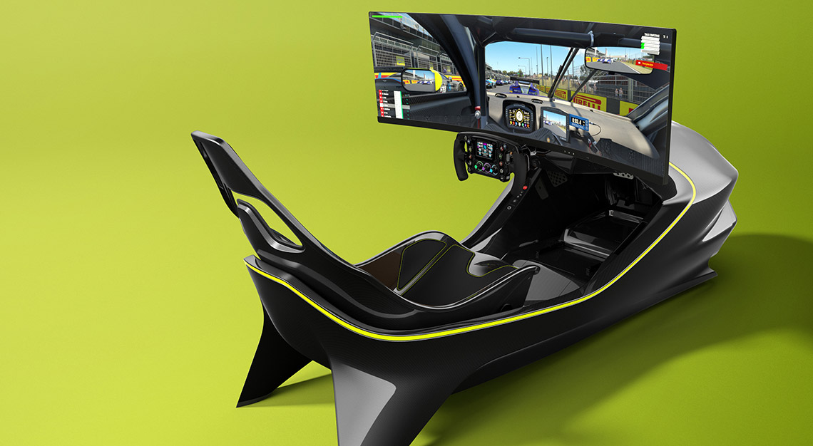 Aston Martin racing simulator